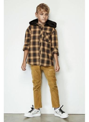 Nebbati Erkek Çocuk Hardal Pantolon Hardal